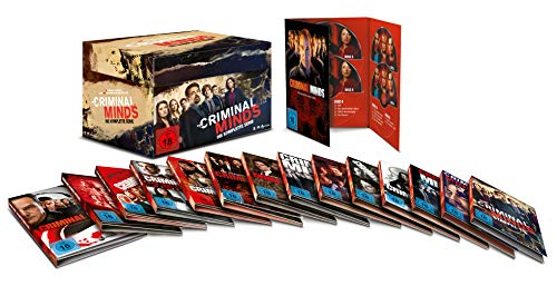 Criminal Minds Komplettbox (Staffel 1-15) (78 DVDs)