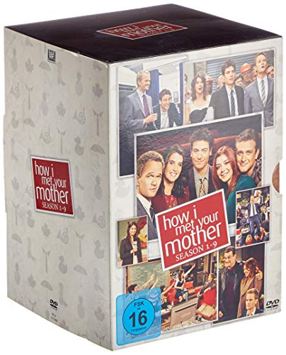 How I Met Your Mother - Komplettbox (Staffel 1-9) (27 DVDs)