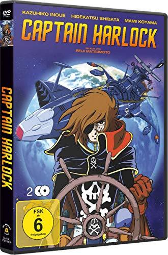 Captain Harlock 2 DVDs
