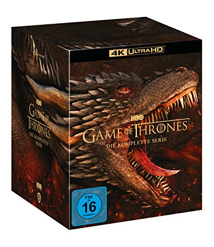 Game of Thrones Die komplette Serie (4K Ultra HD) [Blu-ray]