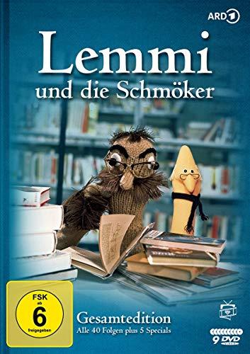 Lemmi und die Schmöker Gesamtedition: Alle 40 Folgen (8 DVDs)