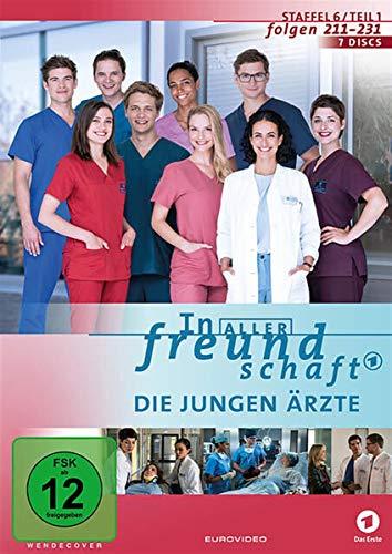 In aller Freundschaft - Die jungen Ärzte: Staffel 6.1 (7 DVDs)