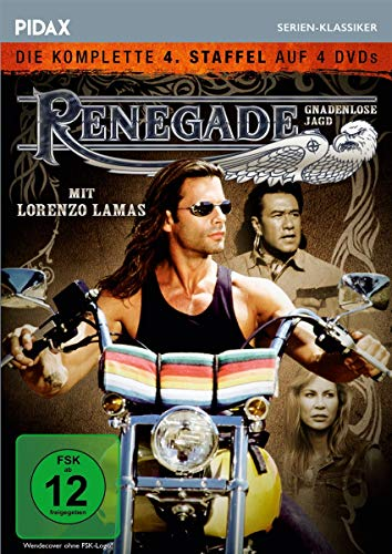 Renegade - Gnadenlose Jagd: Staffel 4 (4 DVDs)