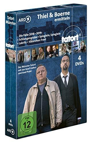 Tatort Thiel & Boerne ermitteln - Die Fälle 2018-2019 (4 DVDs)