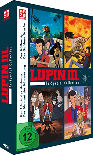 Lupin III. TV Special Collection (4 TV Specials) (4 DVDs)
