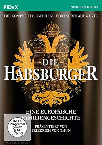 Die Habsburger Eine europäische Familiengeschichte (4 DVDs)