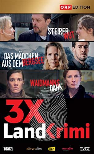 Landkrimi Set 6: Steirerwut/Das Mädchen aus dem Bergsee/Waidmannsdank