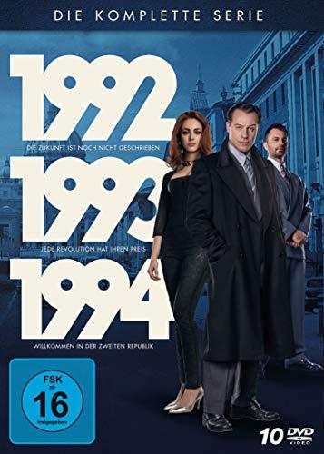 1992-1993-1994 - Die Polit-Trilogie (Limited Edition) (10 DVDs)