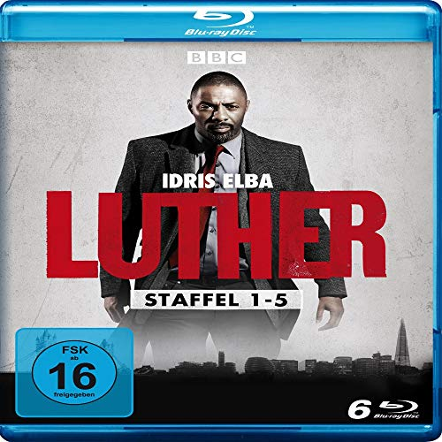 Luther - Staffel 1-5 (Limited Edition) [Blu-ray]