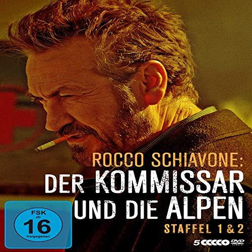 Rocco Schiavone: Der Kommissar und die Alpen - Staffel 1+2 (Limited Edition) (5 DVDs)