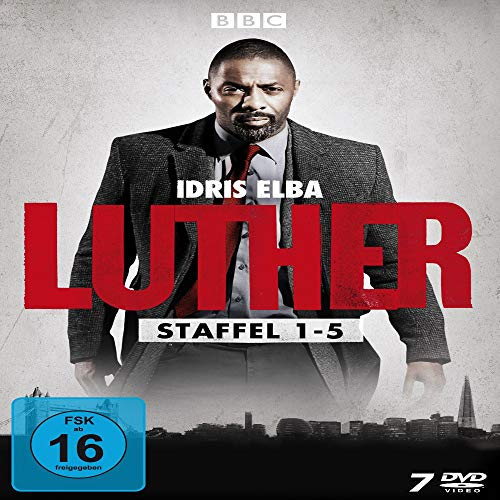 Luther Staffel 1-5 (Limited Edition) (7 DVDs)