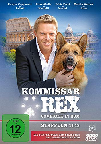 Kommissar Rex Comeback in Rom (Staffeln 11-13) (9 DVDs)