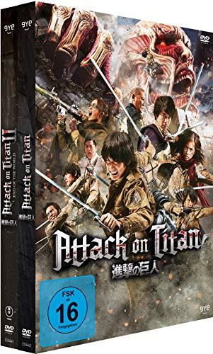 Attack on Titan Film 1+2 (2 DVDs)