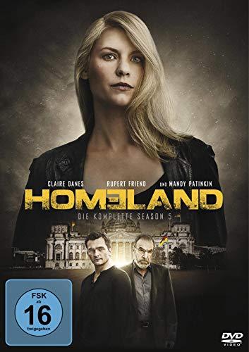 Homeland Season 5 (4 DVDs)