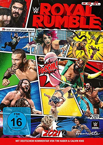 WWE Royal Rumble 2021 (2 DVDs)