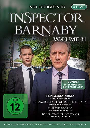 Inspector Barnaby, Vol.31 (4 DVDs)