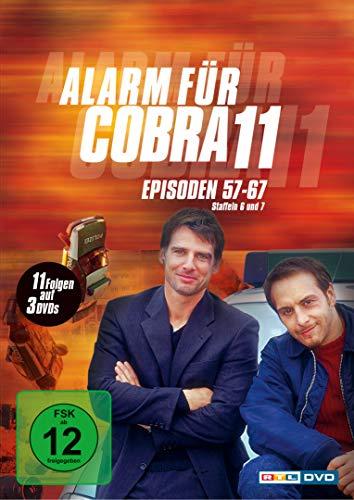 Alarm für Cobra 11 Staffel  6 & 7 (3 DVDs)