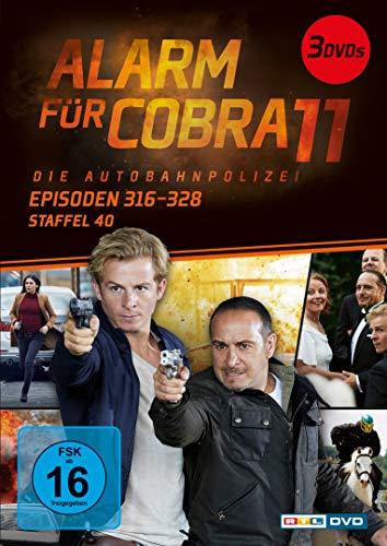 Alarm für Cobra 11 Staffel 40 (3 DVDs)