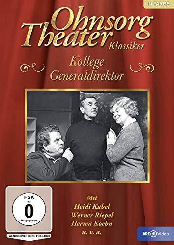 Ohnsorg Theater - Klassiker: Kollege Generaldirektor