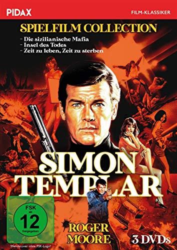 Simon Templar - Spielfilm Collection (3 DVDs)
