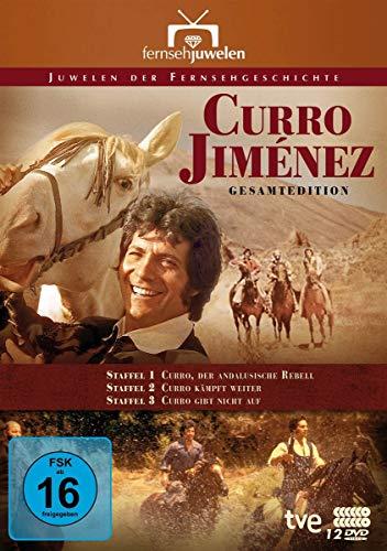Curro Jiménez: Der andalusische Rebell (Komplettbox) (12 DVDs)