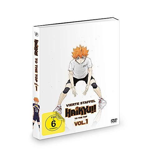 Haikyu!! - Staffel 4: To the Top - Vol. 1 + OVAs: Der Weg des Balls & An Land vs. In der Luft (2 DVDs)