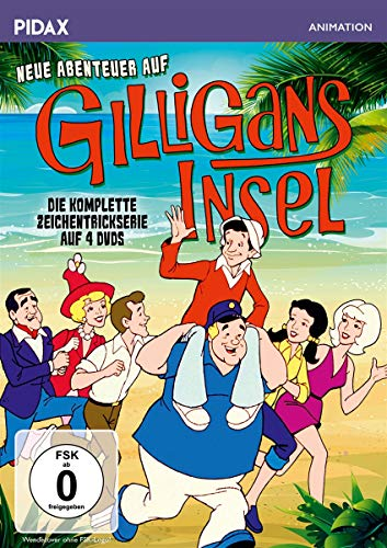 Neue Abenteuer auf Gilligans Insel - Die komplette Serie (4 DVDs)