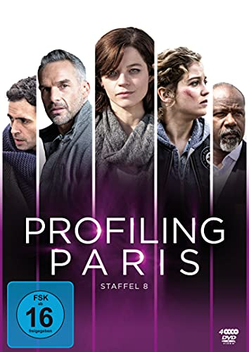 Profiling Paris - Staffel 8 (4 DVDs)
