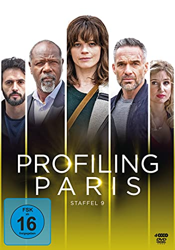 Profiling Paris Staffel 9 (4 DVDs)