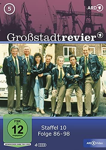 Großstadtrevier Box  5, Staffel 10 (4 DVDs)