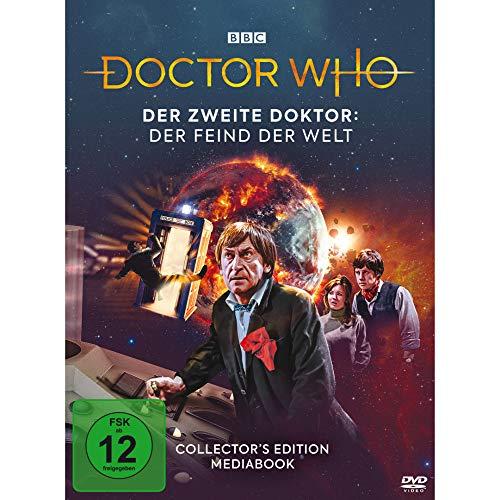 Doctor Who Der zweite Doktor: Der Feind der Welt (Mediabook) (2 DVDs)