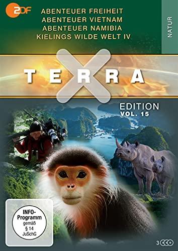 Terra X Edition, Vol.15: Abenteuer Freiheit / Abenteuer Vietnam / Abenteuer Namibia / Kielings wilde Welt IV (3 DVDs)