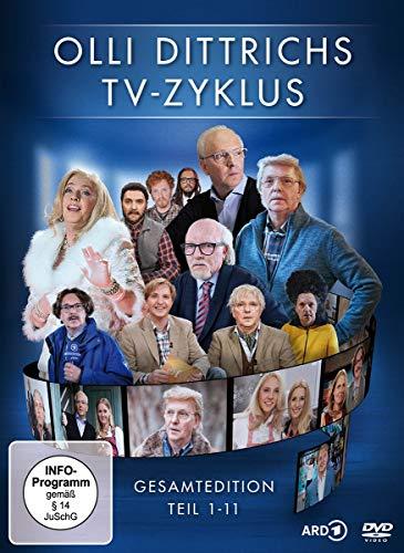 Olli Dittrichs TV-Zyklus Gesamtedition, Teil 1-11 (2 DVDs)
