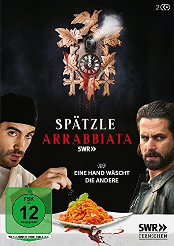 Spätzle Arrabiata - oder eine Hand wäscht die andere 2 DVDs