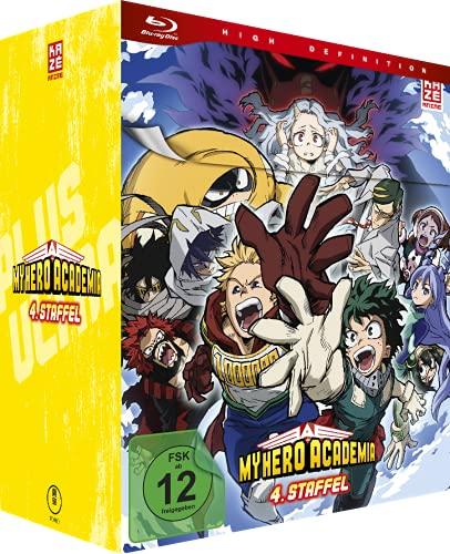 My Hero Academia Staffel 4, Vol. 1 (Limited Edition mit Sammelschuber) [Blu-ray]