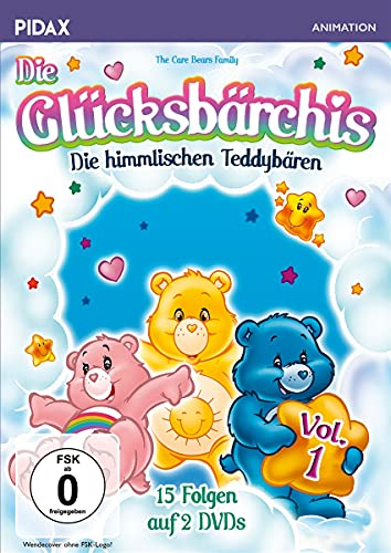 Die Glücksbärchis - Die himmlischen Teddybären, Vol. 1 (2 DVDs)