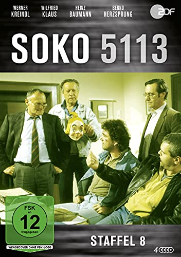SOKO 5113 Staffel 8 (4 DVDs)