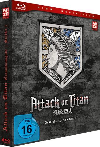 Attack on Titan Staffel 1 (Gesamtausgabe) (Deluxe Edition) [Blu-ray]