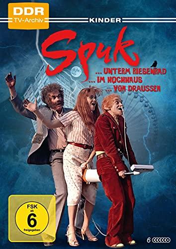 Spuk unterm Riesenrad, Spuk im Hochhaus, Spuk von draußen (6 DVDs)