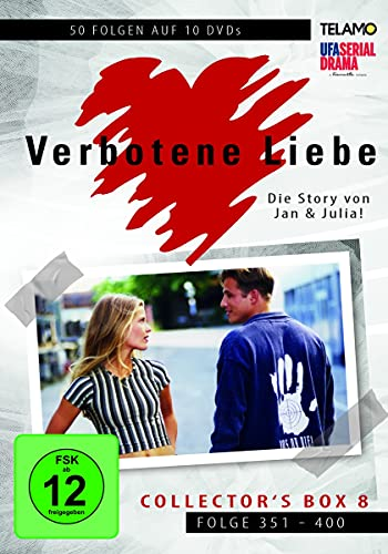 Verbotene Liebe Collector's Box  8 (Folge 351-400) (10 DVDs)