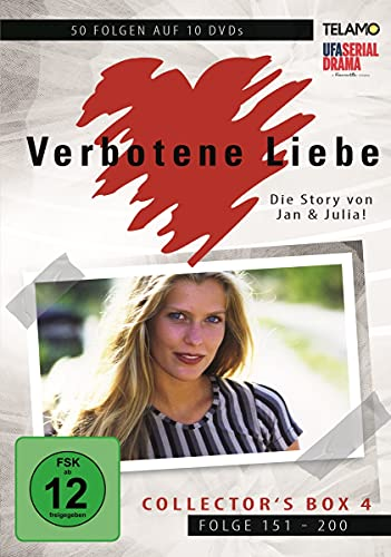 Verbotene Liebe Collector's Box  4 (Folge 151-200) (10 DVDs)