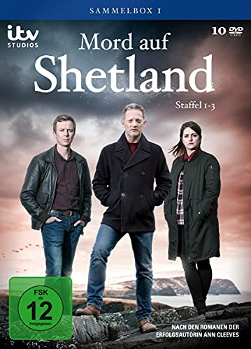 Mord auf Shetland Sammelbox 1 (Staffel 1-3) (10 DVDs)
