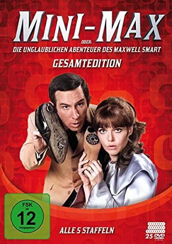 Mini Max oder Die unglaublichen Abenteuer des Maxwell Smart - Komplettbox (25 DVDs)