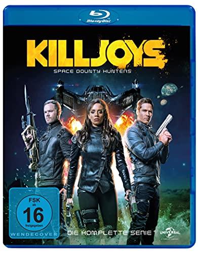 Killjoys - Space Bounty Hunters: Die komplette Serie [Blu-ray]