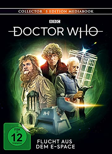 Doctor Who Vierter Doktor: Flucht aus dem E-Space (Limited Edition mit DVD) [Blu-ray]