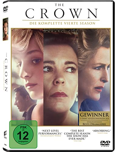The Crown Staffel 4 (4 DVDs)