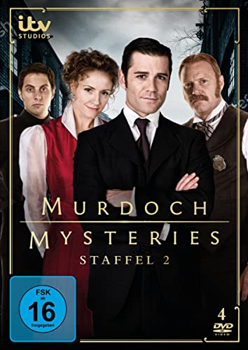 Murdoch Mysteries Staffel 2 (4 DVDs)