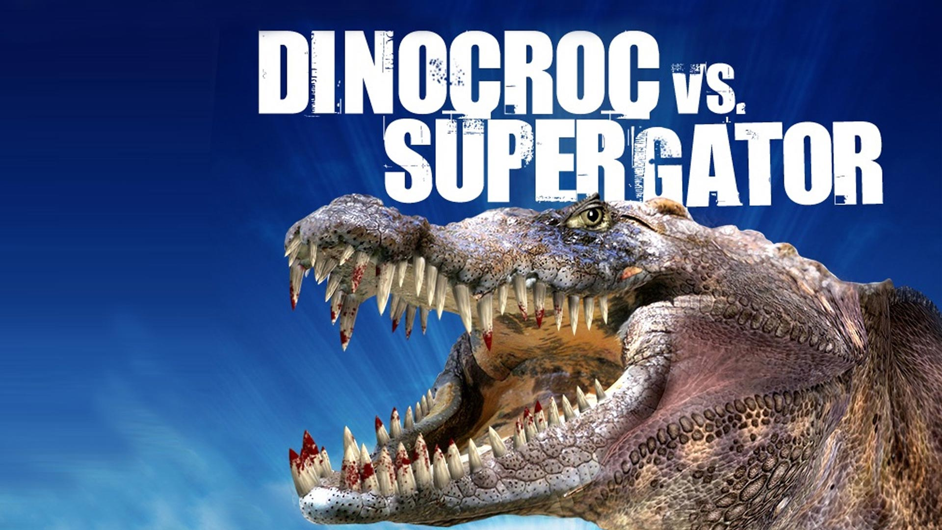 Dinocroc vs. Supergator [dt./OV]