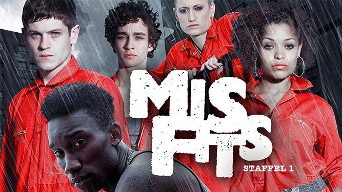 Misfits - Staffel 1 [dt./OV]