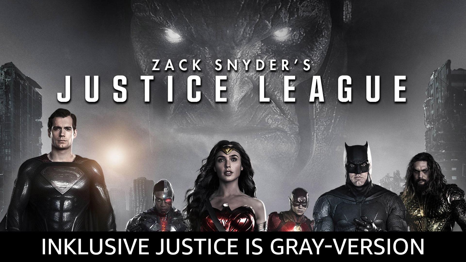 "Zack Snyder's Justice League (inkl. Bonusversion ""Justice is Gray"")"